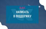 Как написать в службу поддержки ВКонтакте